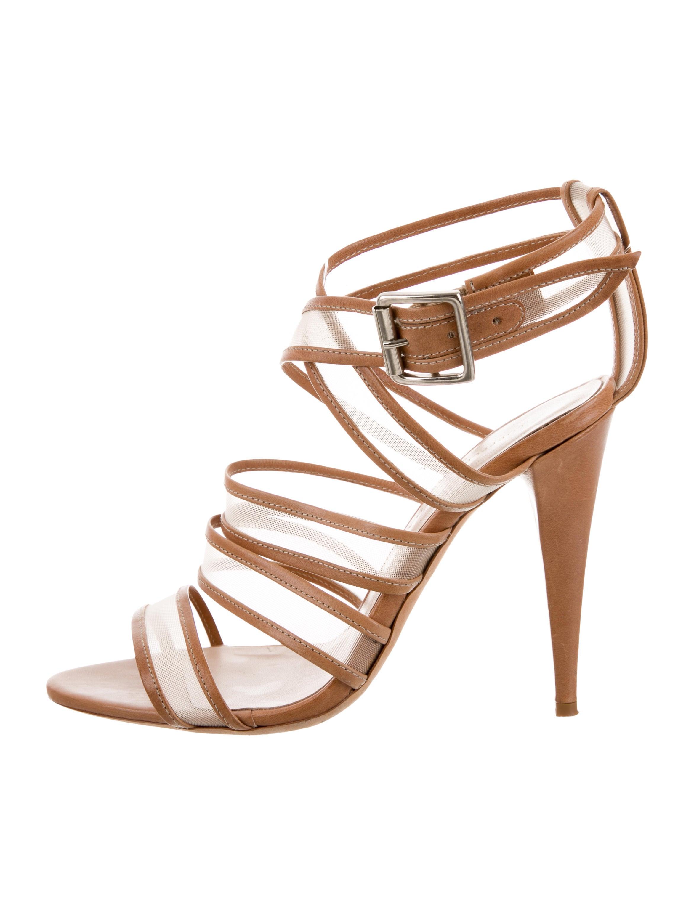 cheap sale 100% guaranteed Loeffler Randall Leather & Mesh Sandals cheap nicekicks Vd4uNUYjVP