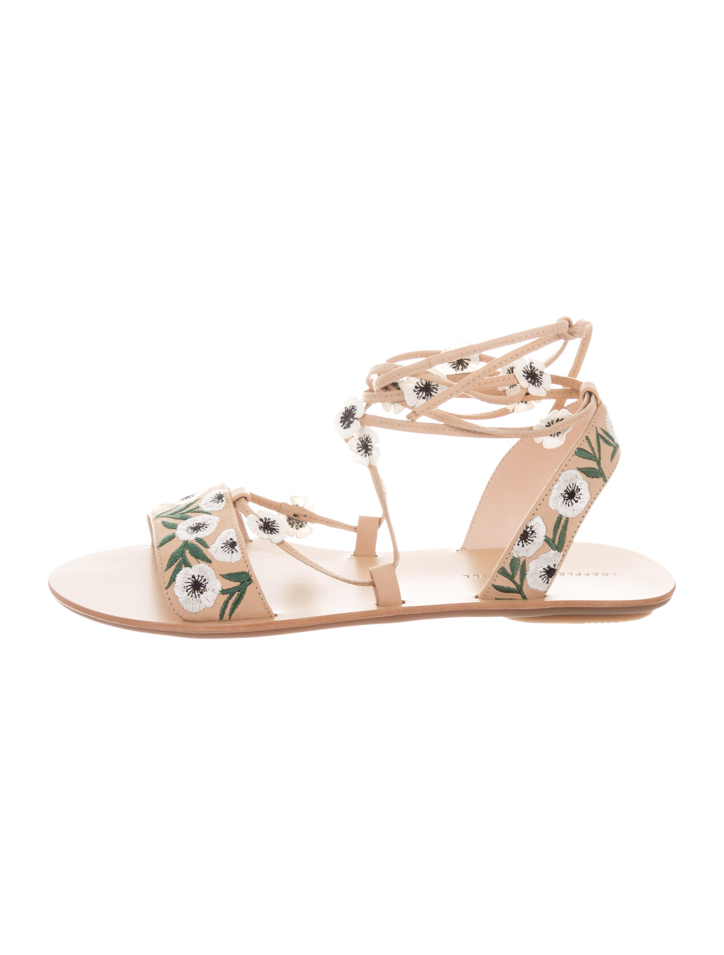 Loeffler Randall Fleura Embroidered Sandals w/ Tags wiki very cheap low cost sale online clearance finishline q0kjZSuRwZ