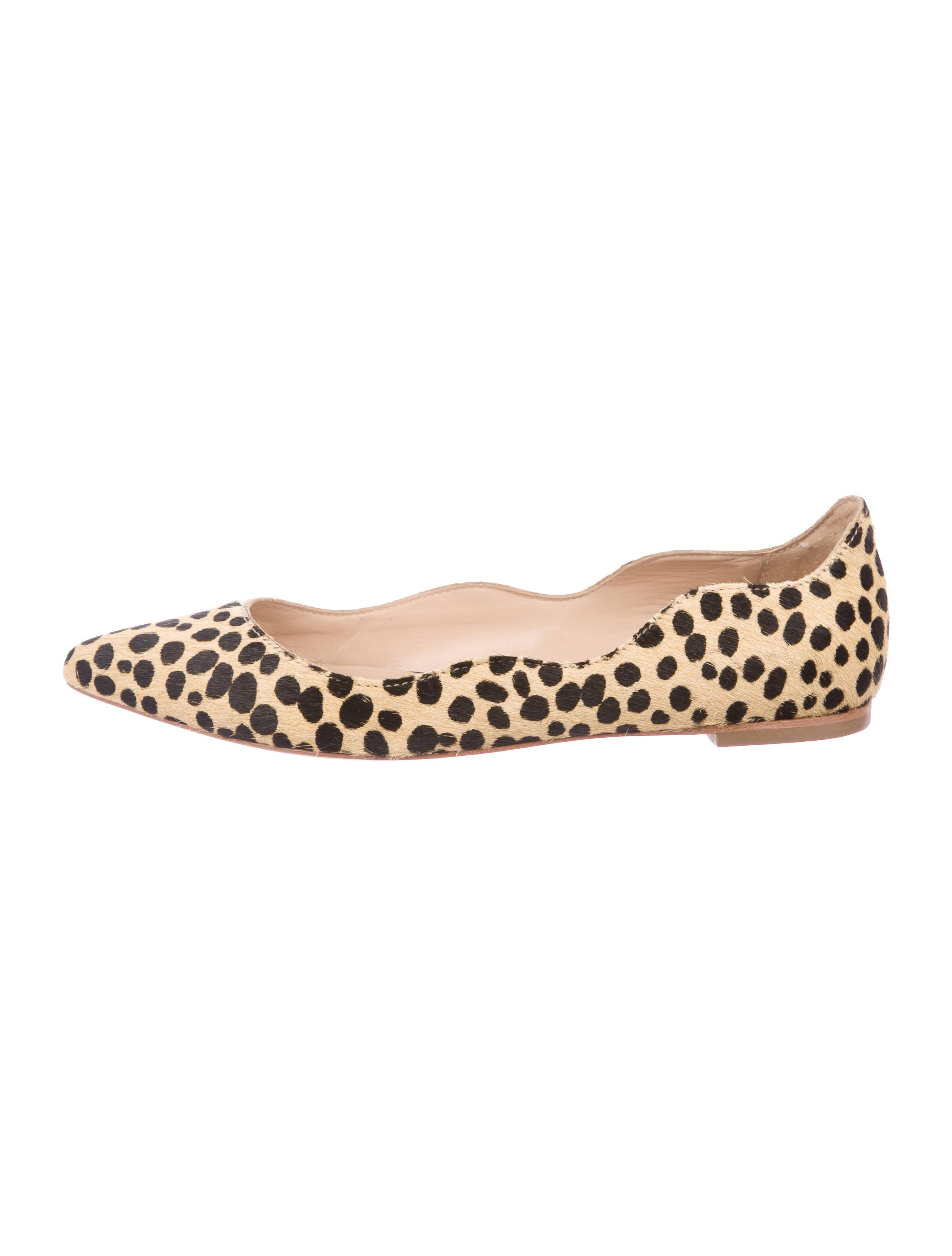 free shipping outlet locations cheap hot sale Loeffler Randall Cheetah Print Ponyhair Flats free shipping fashionable for sale discount sale sale the cheapest hZfNY