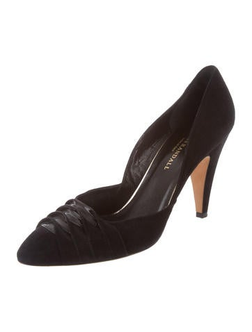 Loeffler Randall Semi-Pointed Suede Pumps for sale clearance wiki otPDg3
