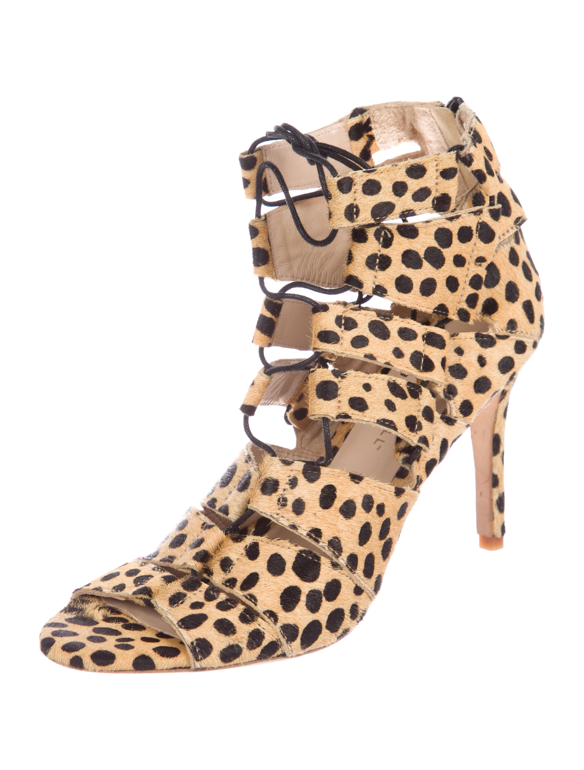 shop sale online buy cheap in China Loeffler Randall Lottie Ponyhair Cage Sandals geniue stockist buy cheap low price fee shipping outlet shop for d1IFX9DR