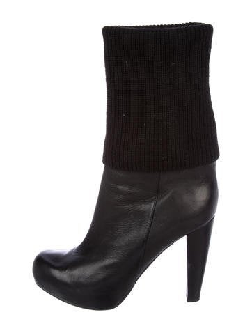 shop clearance top quality Loeffler Randall Wendy Leather Mid-Calf Boots store cheap price newest sale online kmqyg2iO