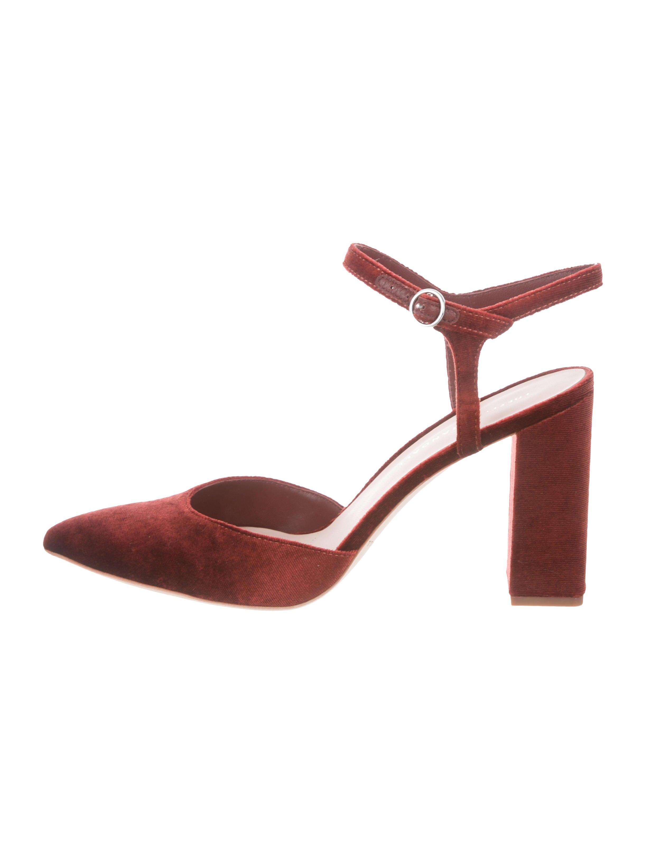 3d60a3c6724 Loeffler Randall Leily Velvet Pumps w  Tags - Shoes - WLF36128