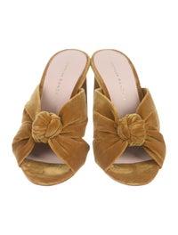 Coco Velvet Slide Sandals image 3