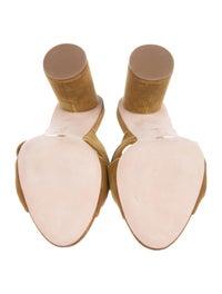 Coco Velvet Slide Sandals image 5