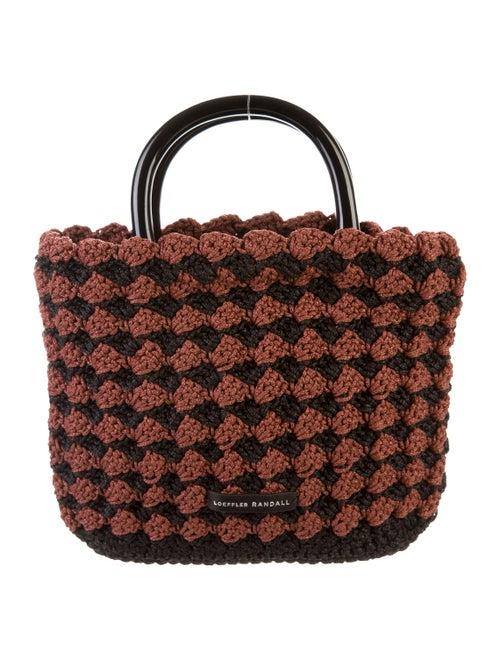Loeffler Randall Crochet Handle Bag mauve