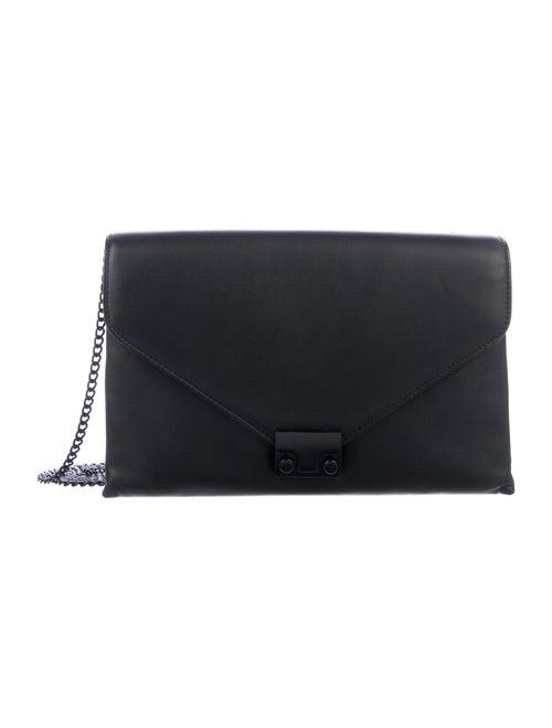 Loeffler Randall Leather Crossbody Bag Black