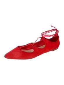 Loeffler Randall Suede Ballet Flats