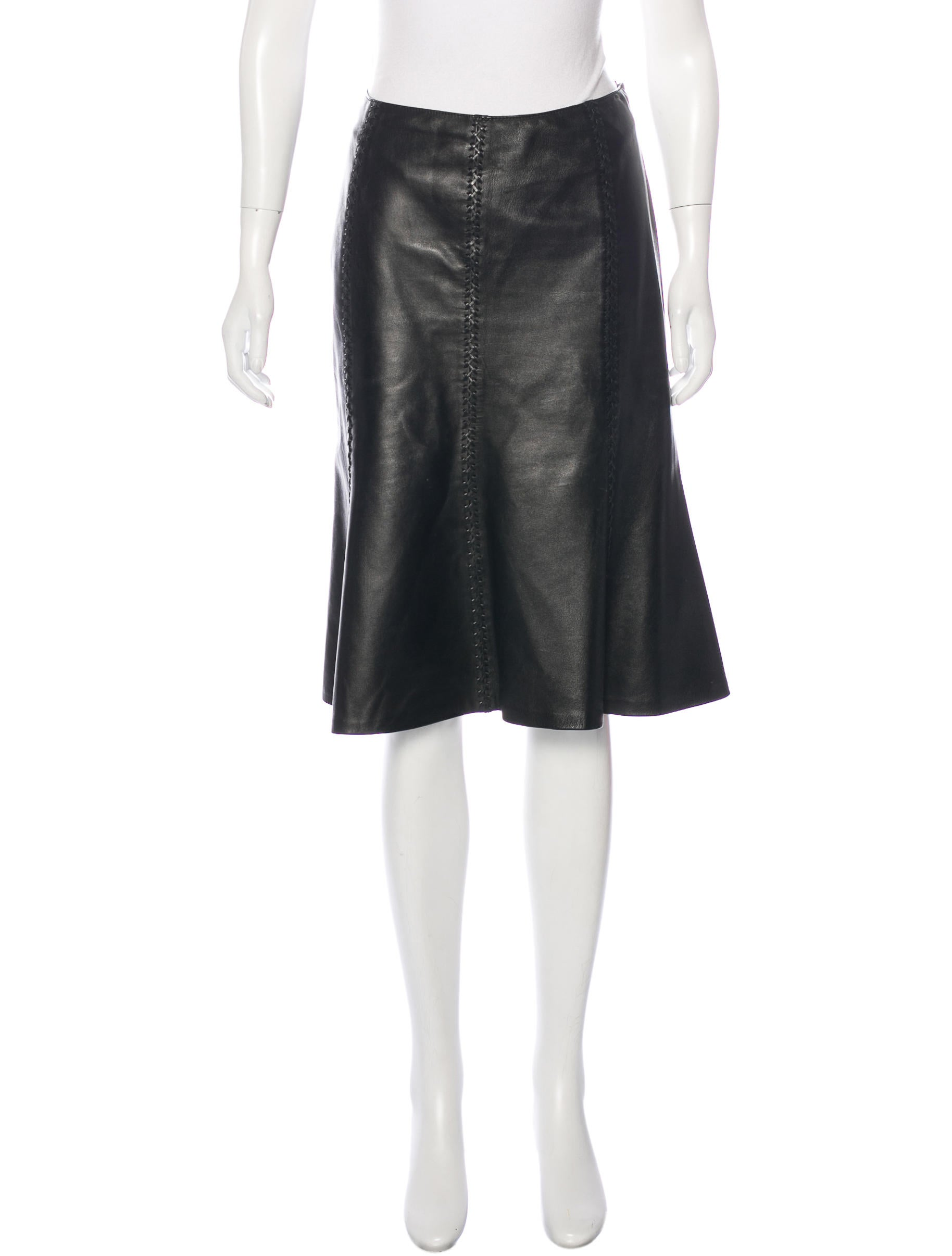 lafayette 148 leather a line skirt clothing wlffy20191
