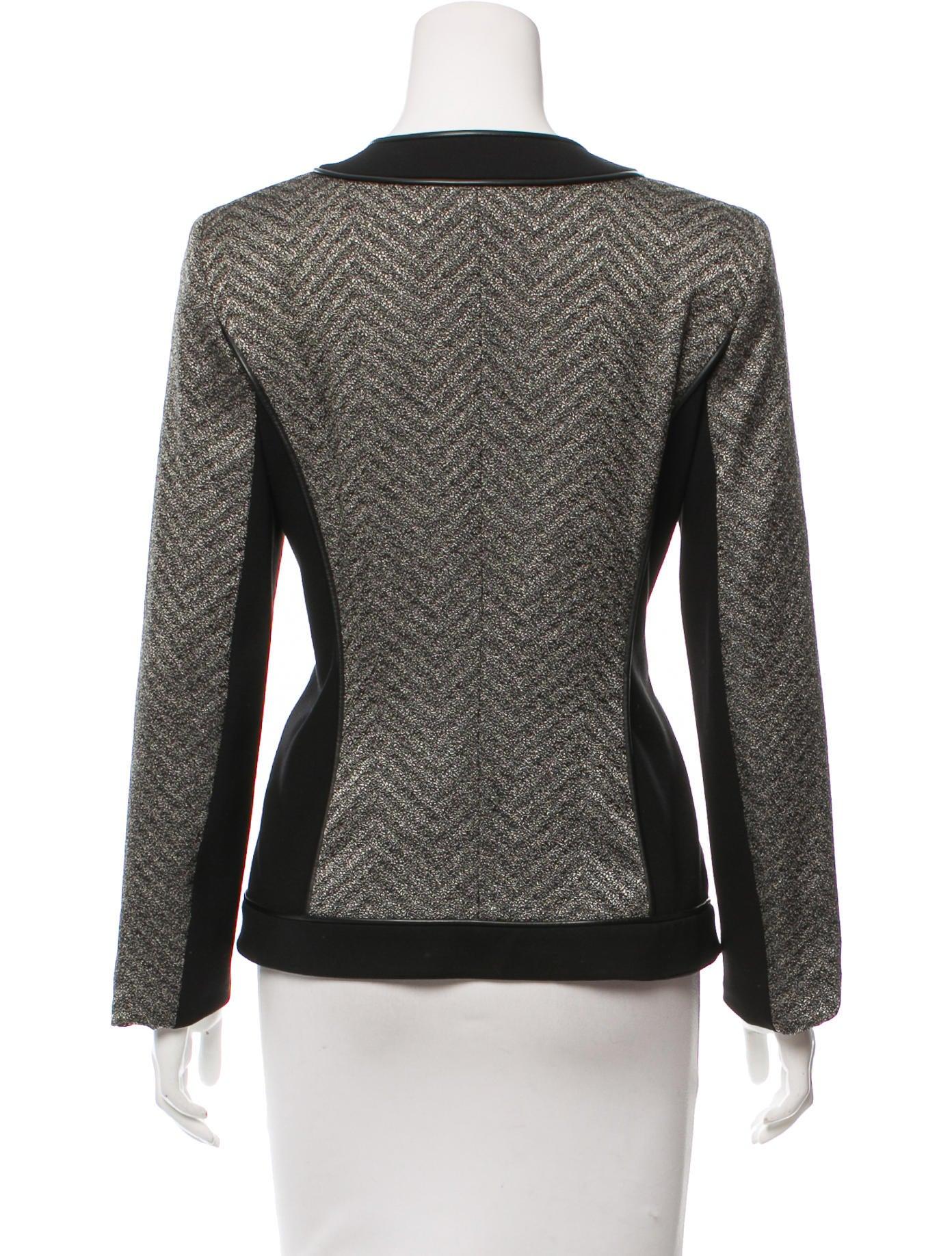 Lafayette 148 Knit Long Sleeve Jacket Clothing