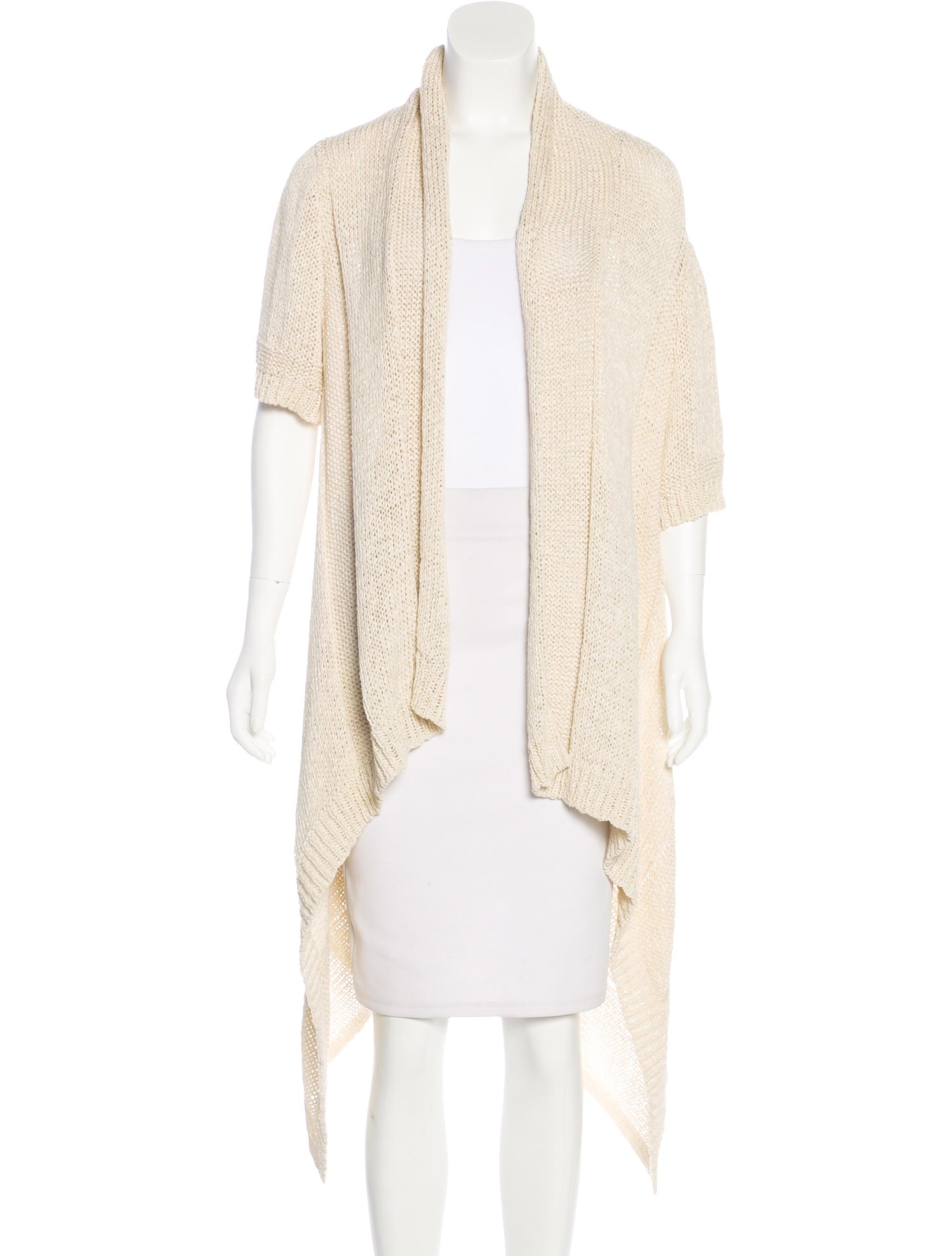 long patchwork acevog sleeve open in ladies cardigans thin irregular s chiffon cardigan from women autumn summer sweaters draped hem front item drapes
