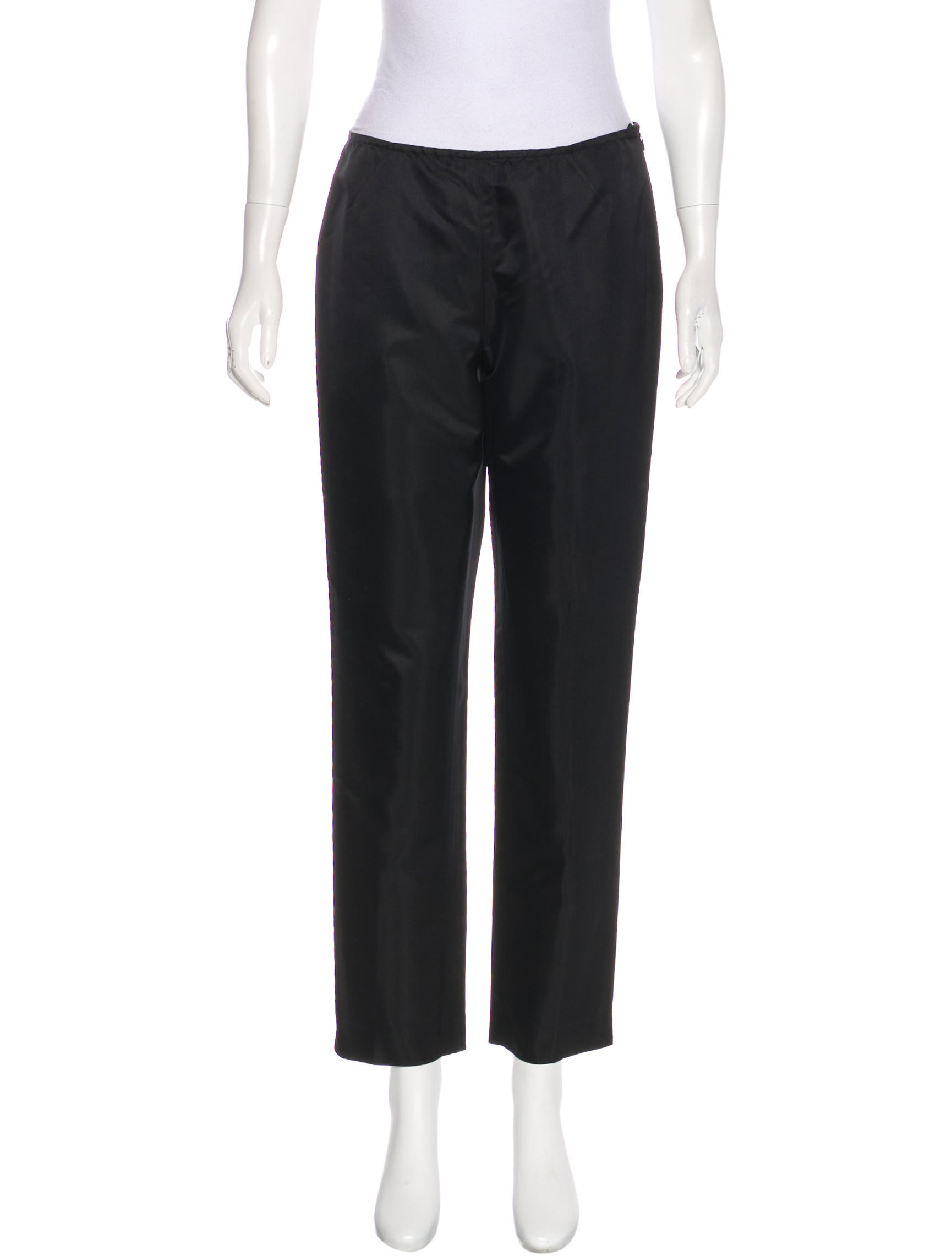 Lafayette 148 Mid-Rise Satin Pants Deals Cheap Online Clearance Finishline ltoY55