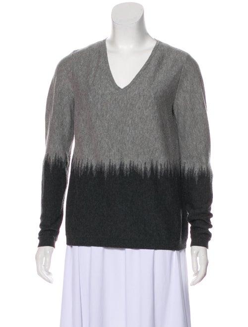 Lafayette 148 Wool Tie-Dye Print Sweater Wool