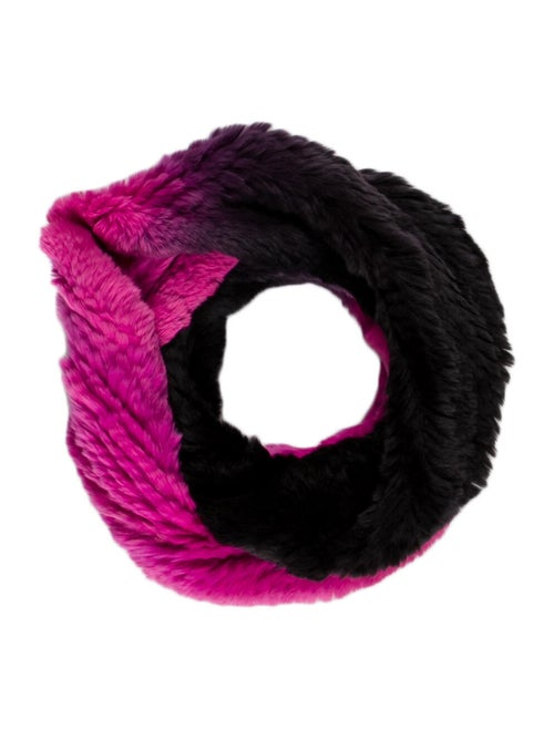 Lafayette 148 Knit Snood Pink