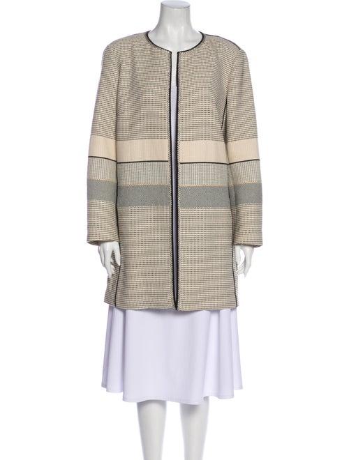 Lafayette 148 Striped Coat