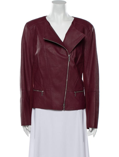 Lafayette 148 Leather Biker Jacket