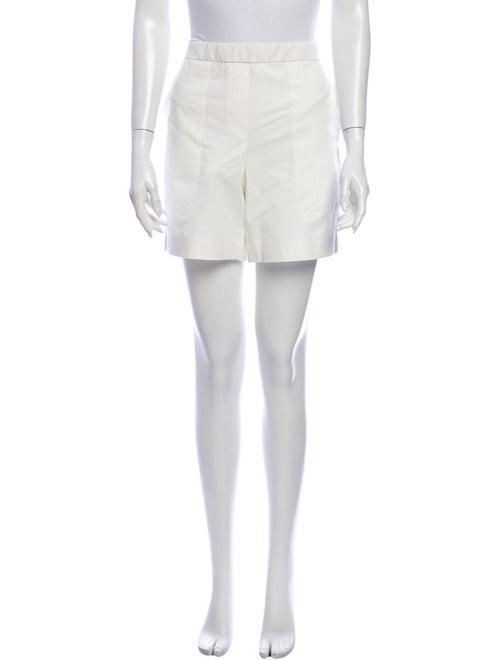 Lafayette 148 Mini Shorts White