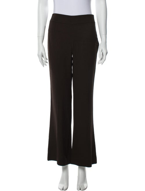 Lafayette 148 Flared Pants Brown