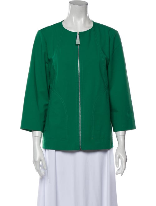 Lafayette 148 Evening Jacket Green