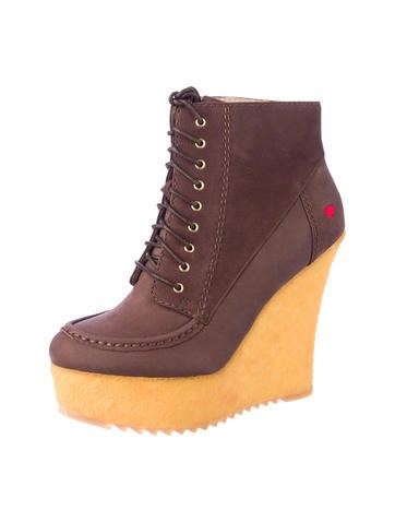 Wedge Boots w/ Tags