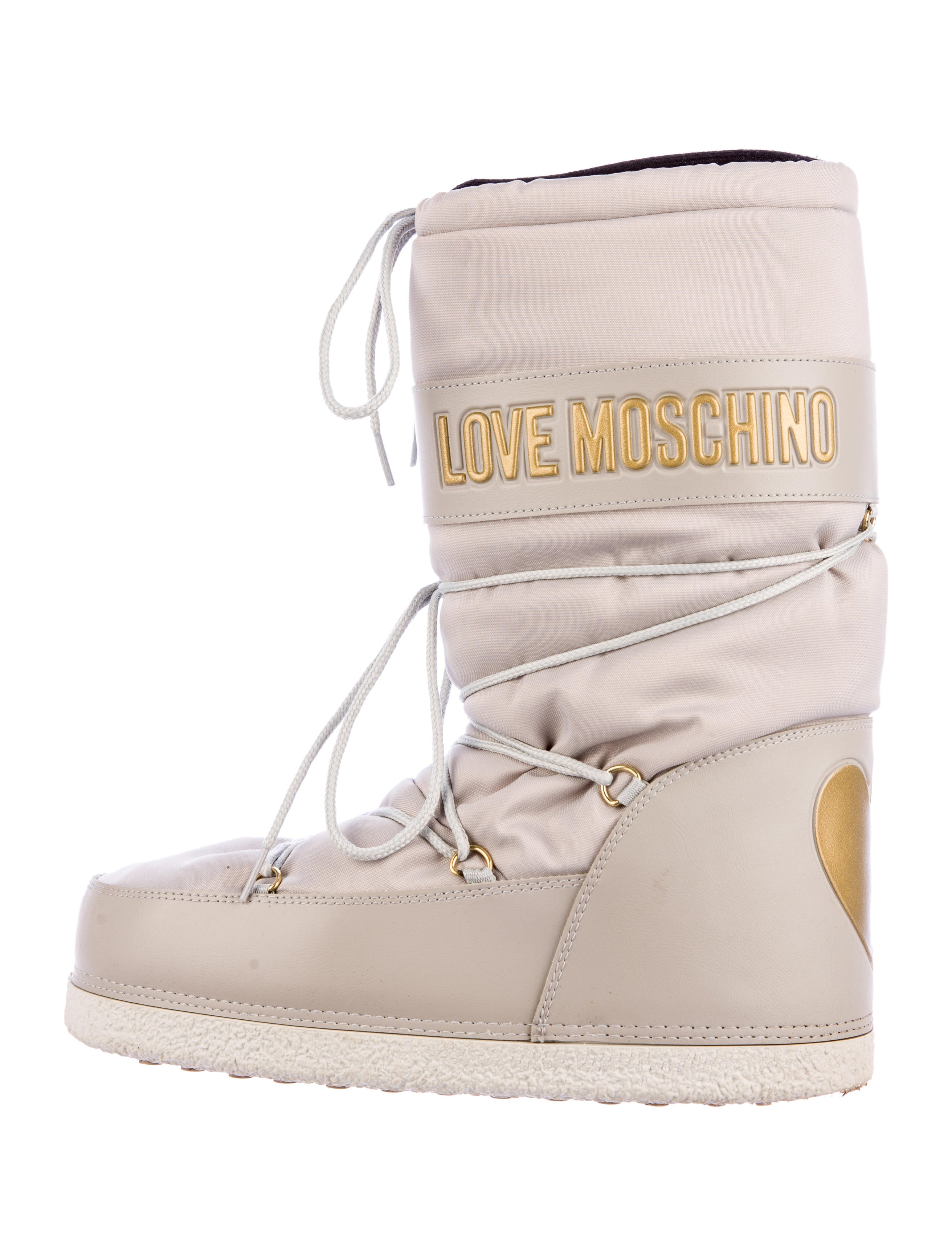 Love Moschino Snow Boots - Shoes - WLH20080 | The RealReal