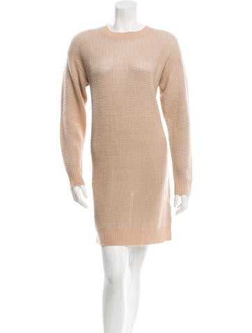 Love Moschino Knit Long Sleeve Dress w/ Tags None