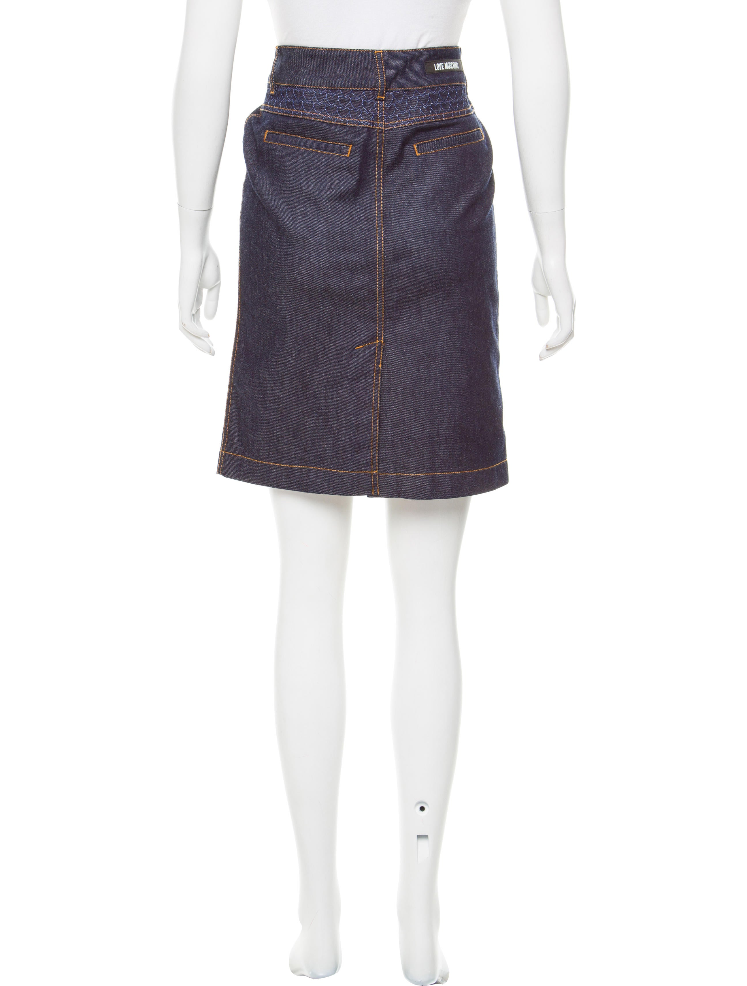 Free shipping BOTH ways on denim skirts knee length, from our vast selection of styles. Fast delivery, and 24/7/ real-person service with a smile. Click or call