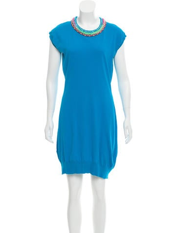 Love Moschino Sleeveless Knit Dress None