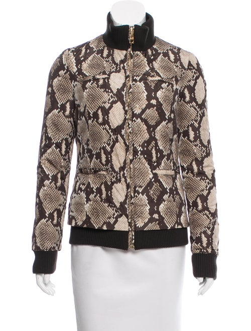 a76cfc50d6d0 Love Moschino Animal Print Puffer Jacket - Clothing - WLH20802   The ...