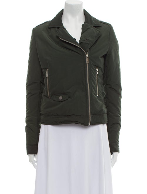 Love Moschino Biker Jacket Green