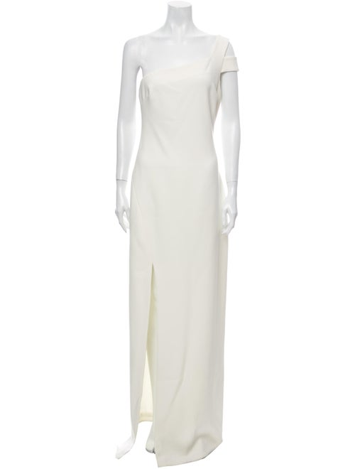 Likely One-Shoulder Long Dress w/ Tags White