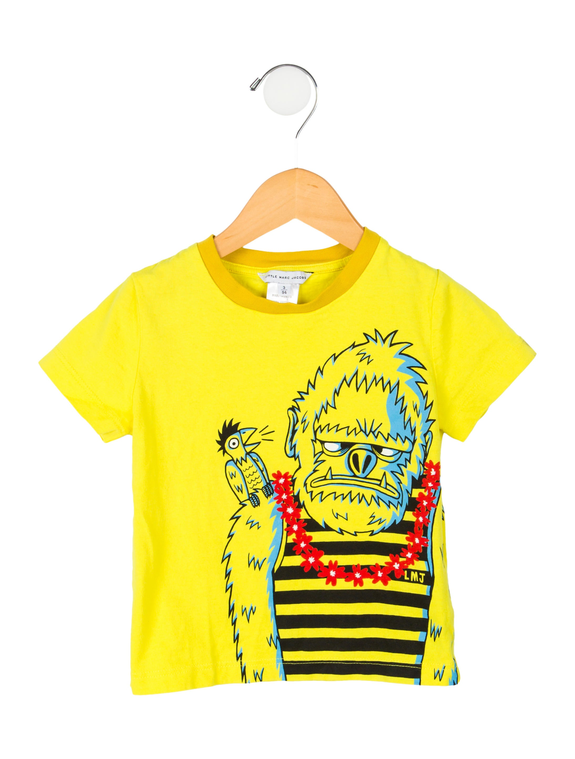 Little marc jacobs boys 39 screen print t shirt boys for Screen print on t shirts