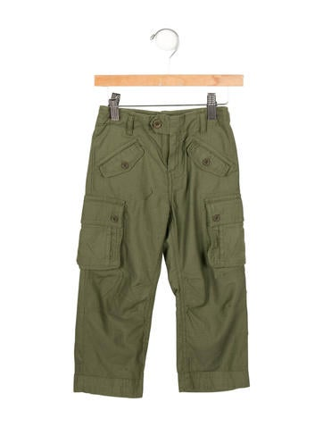 Little Marc Jacobs Boys' Straight-Leg Cargo Pants w/ Tags None