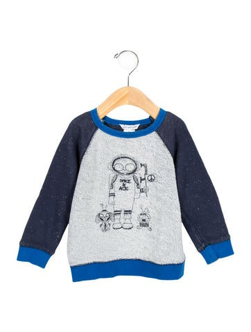 Little Marc Jacobs Boys' Printed Crew neck Shirt None