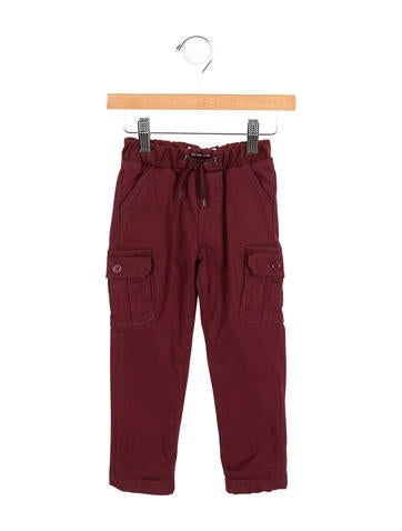 Little Marc Jacobs Boys' Drawstring Cargo Pants w/ Tags None