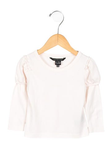 Little Marc Jacobs Girls' Long Sleeve Top None