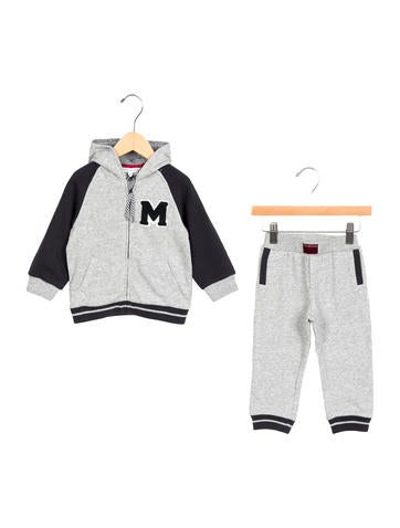 Little Marc Jacobs Boys' Hooded Jogger Set w/ Tags None