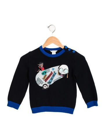 Little Marc Jacobs Boys' Printed Sweater None