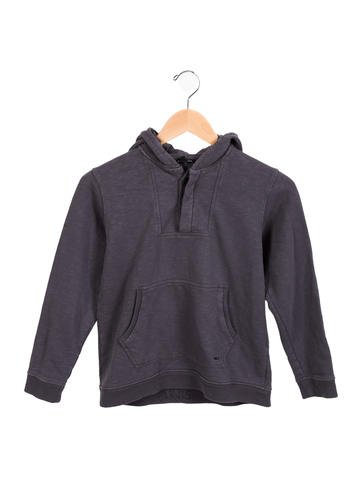 Little Marc Jacobs Boys' Hooded Knit Sweatshirt None