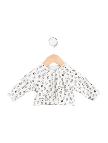 Little Marc Jacobs Boys' Printed Long Knit Cardigan None