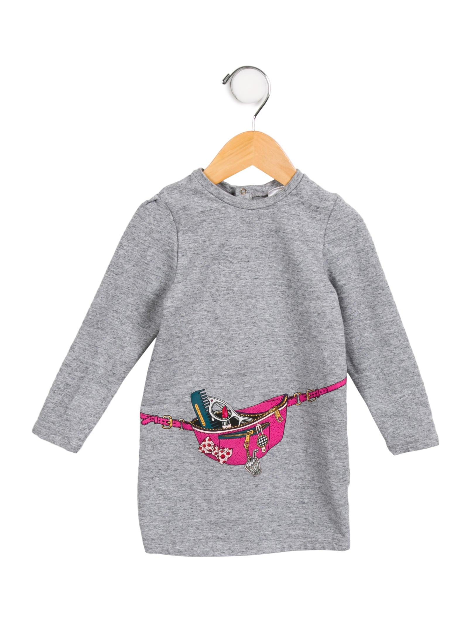 0853d77dc1 Little Marc Jacobs Girls  Fannypack Sweatshirt Dress - Girls ...