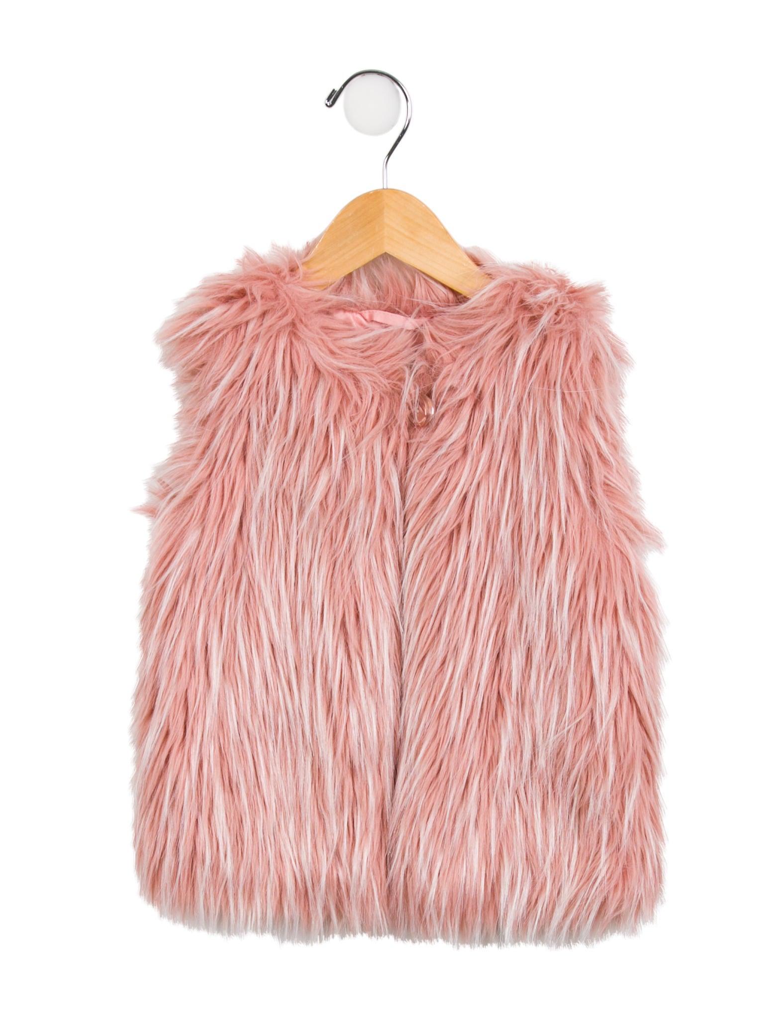 ce88b15dc27 Little Marc Jacobs Girls' Faux Fur Vest - Girls - WLIMJ21509 | The ...
