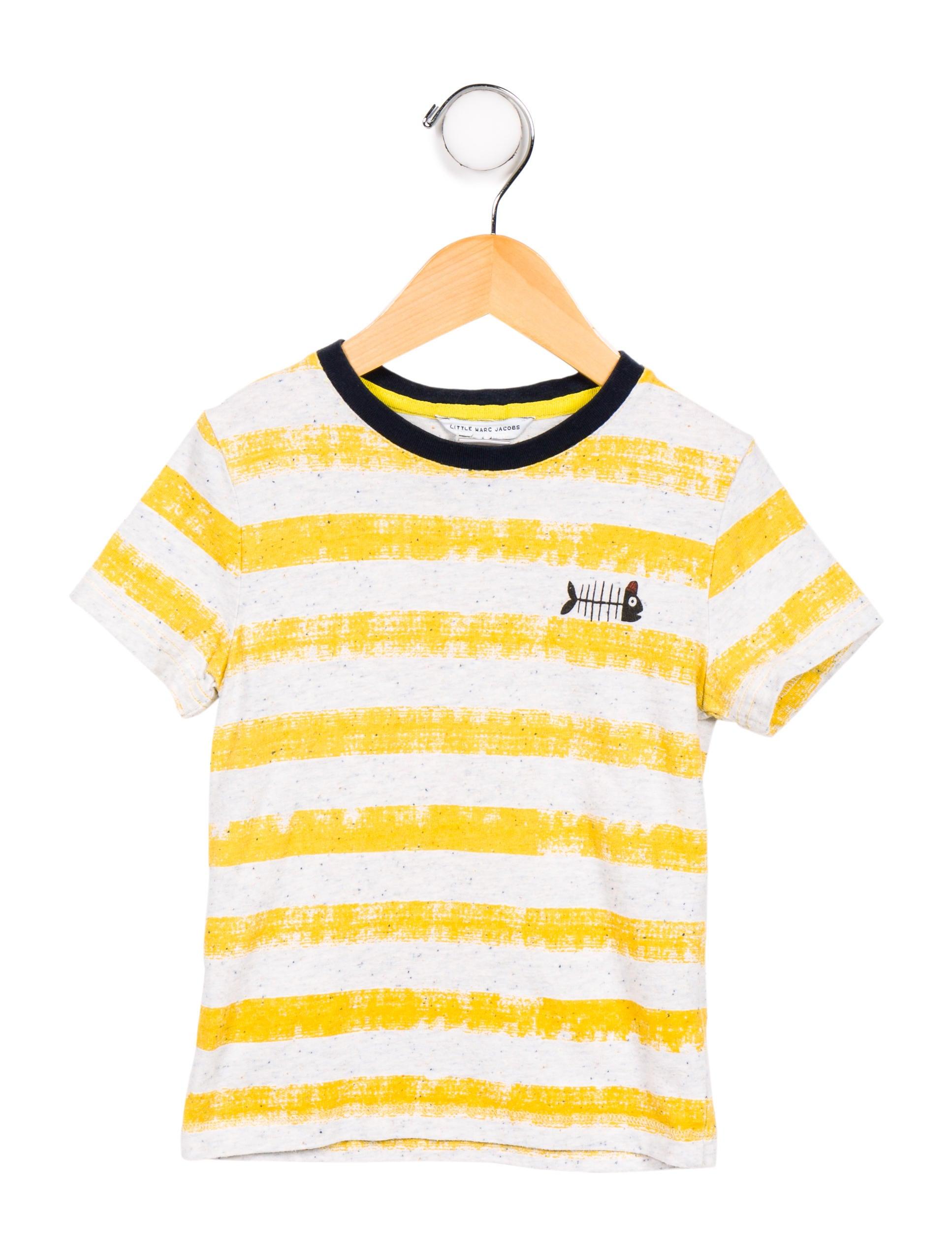 71a8c65a8 Little Marc Jacobs Boys' Striped T-Shirt - Boys - WLIMJ21782   The ...