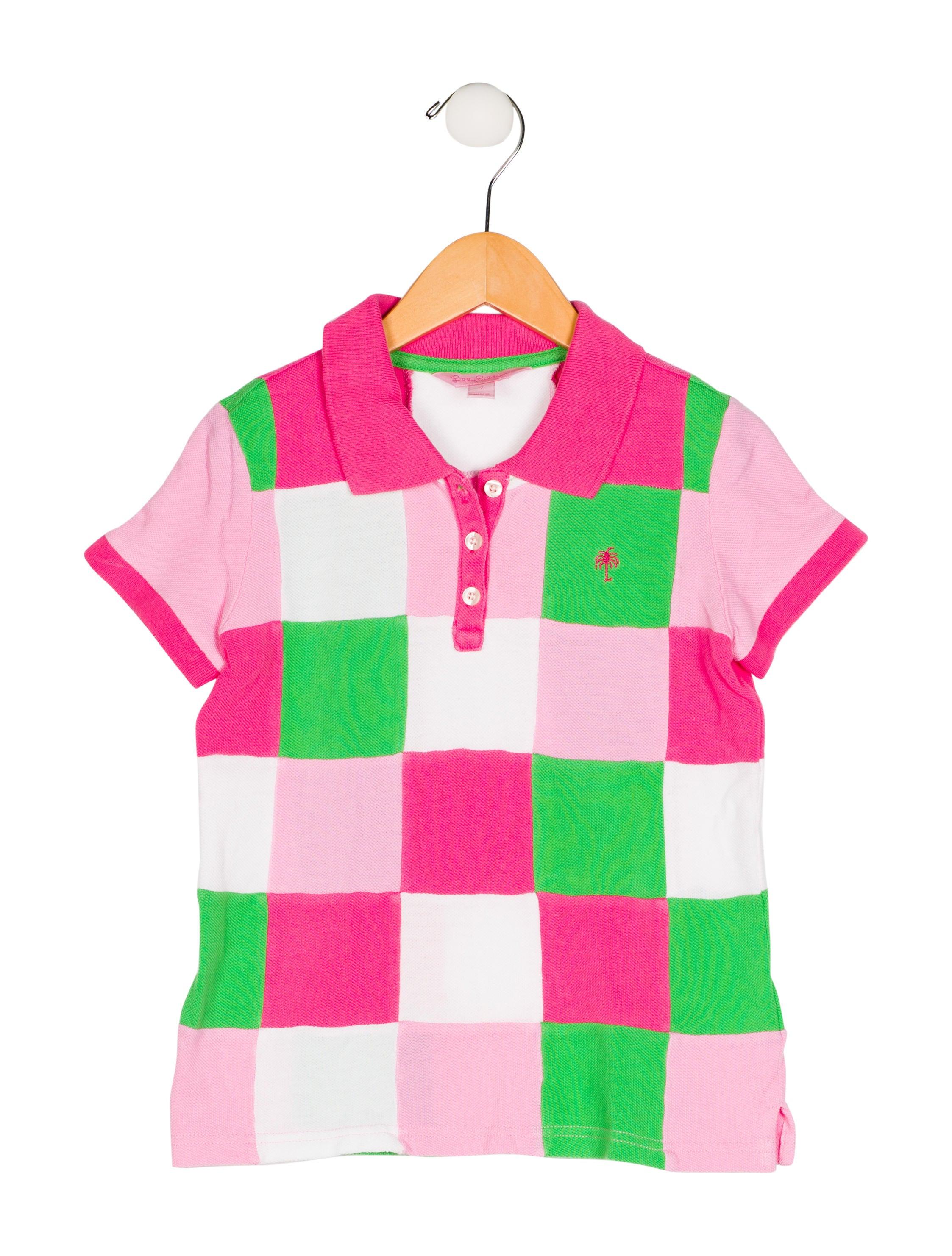 Girls Pink Polo Shirts Joe Maloy