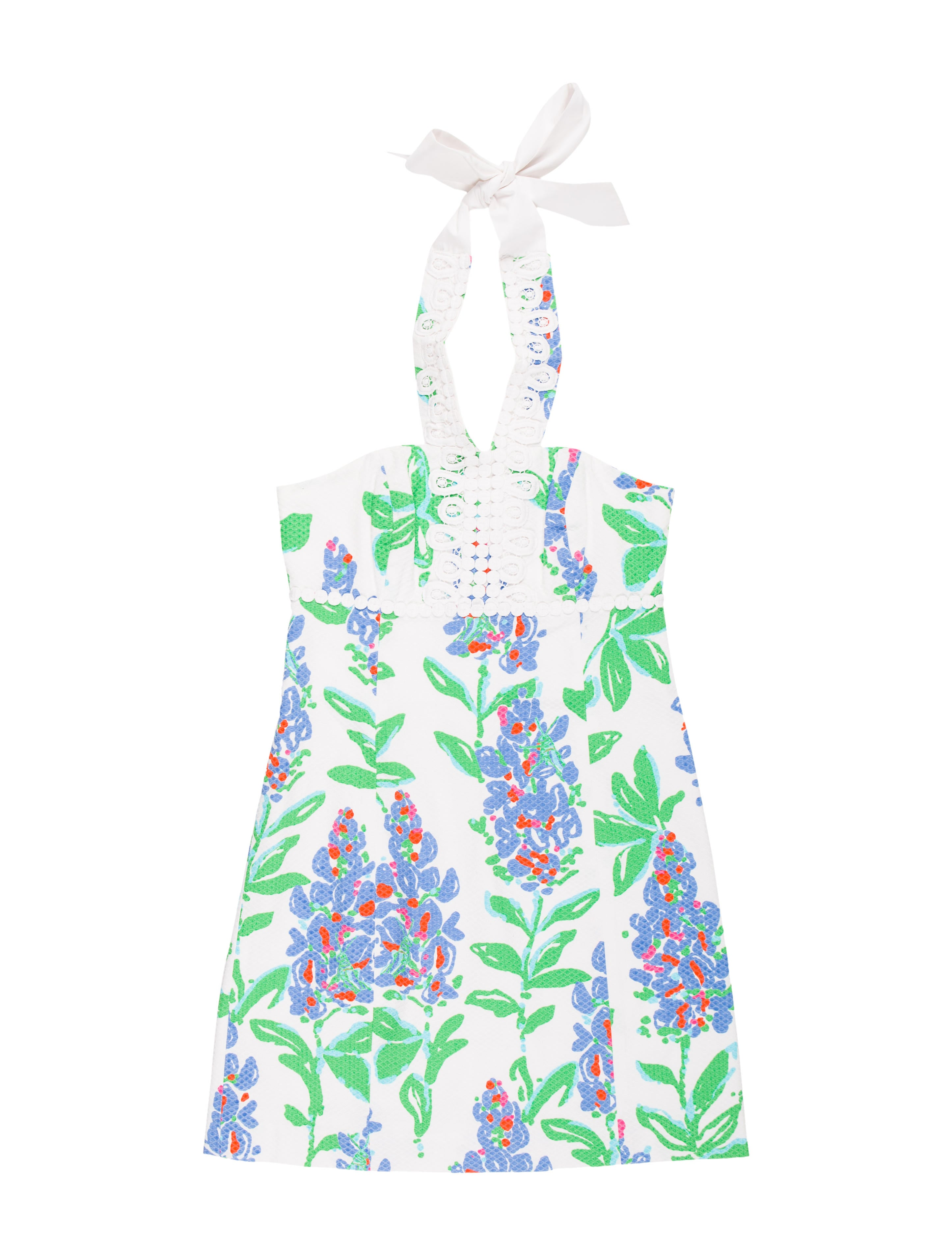 Lilly Pulitzer Mini Halter Dress Clothing WLL