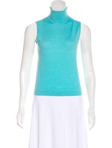 Lilly Pulitzer Sleeveless Cashmere Top None