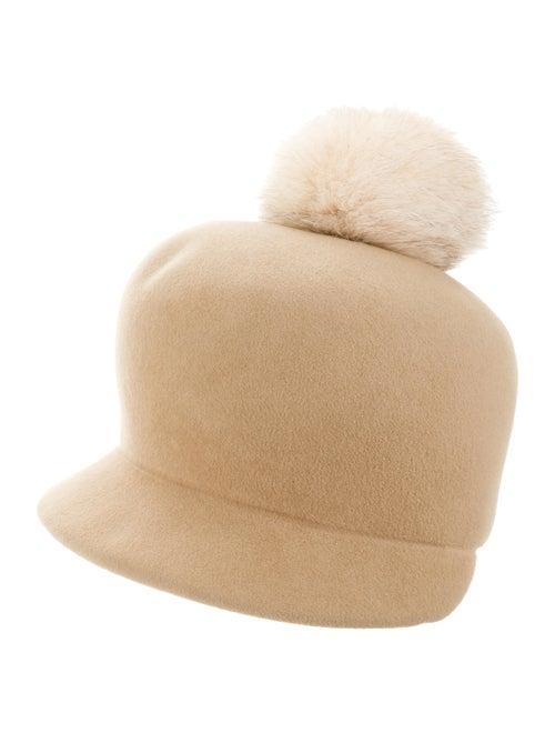 Lola Hats Felt Fedora Hat Tan
