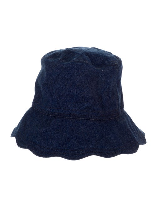 Lola Hats Denim Bucket Hat Blue