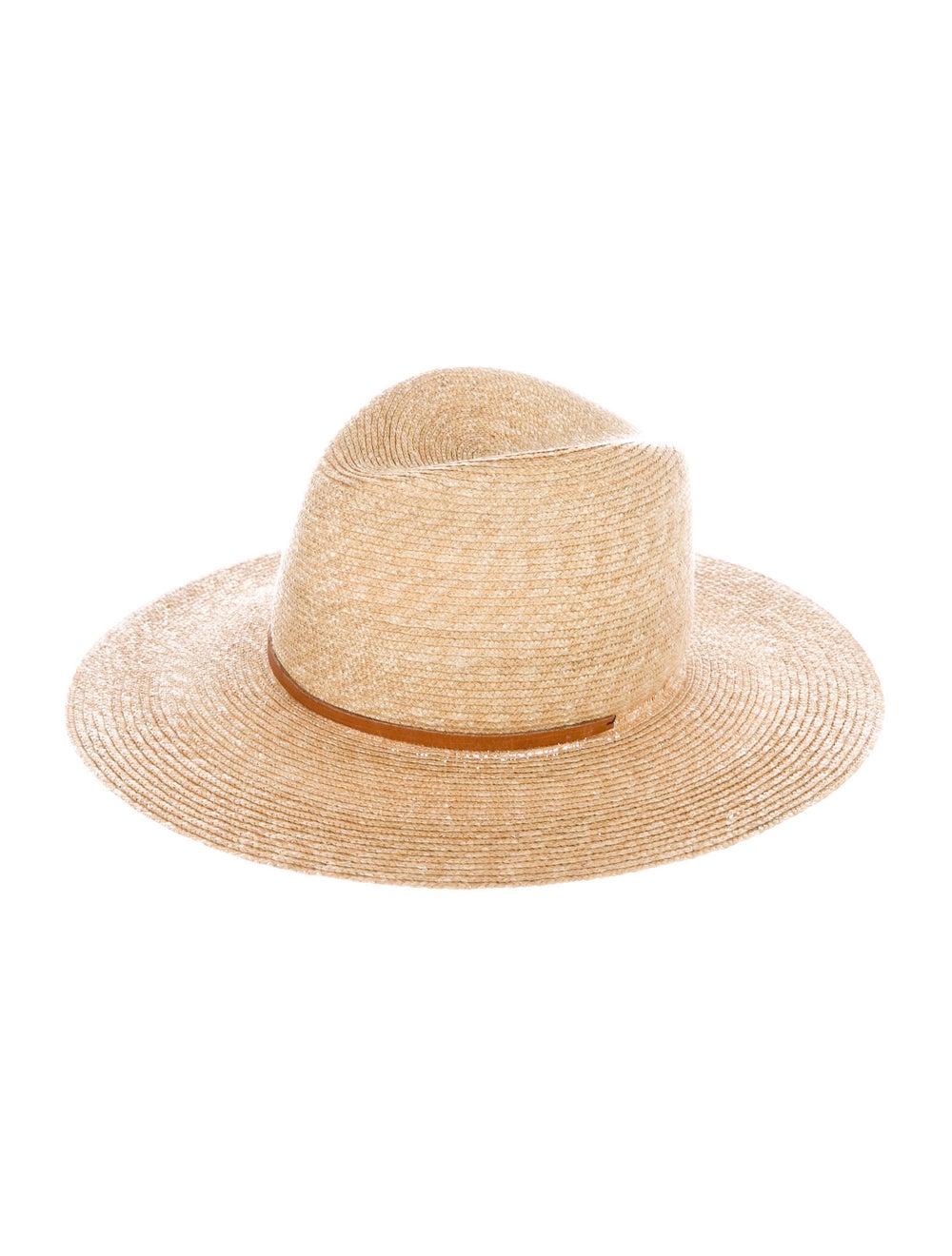 Lola Hats Raffia Wide Brim Hat Tan - image 1