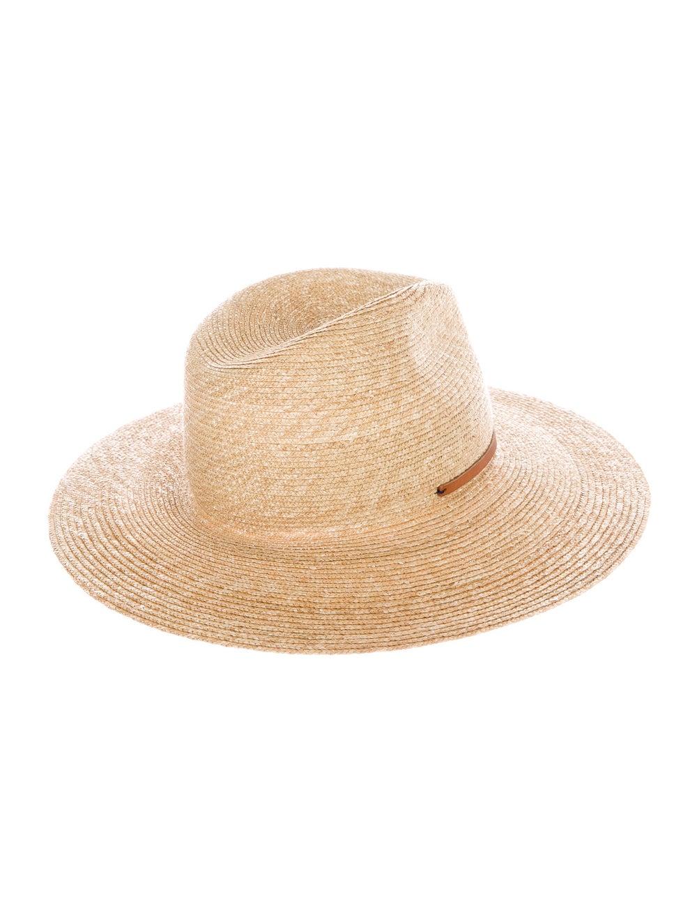 Lola Hats Raffia Wide Brim Hat Tan - image 2